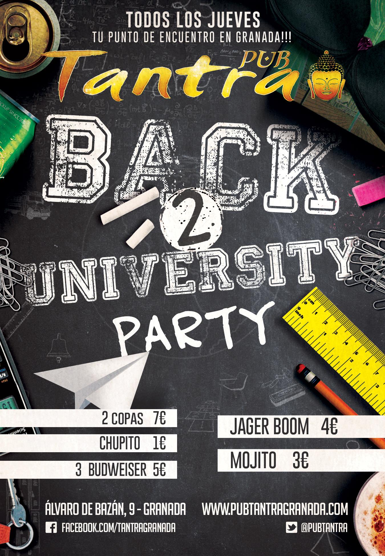 Back to University Party