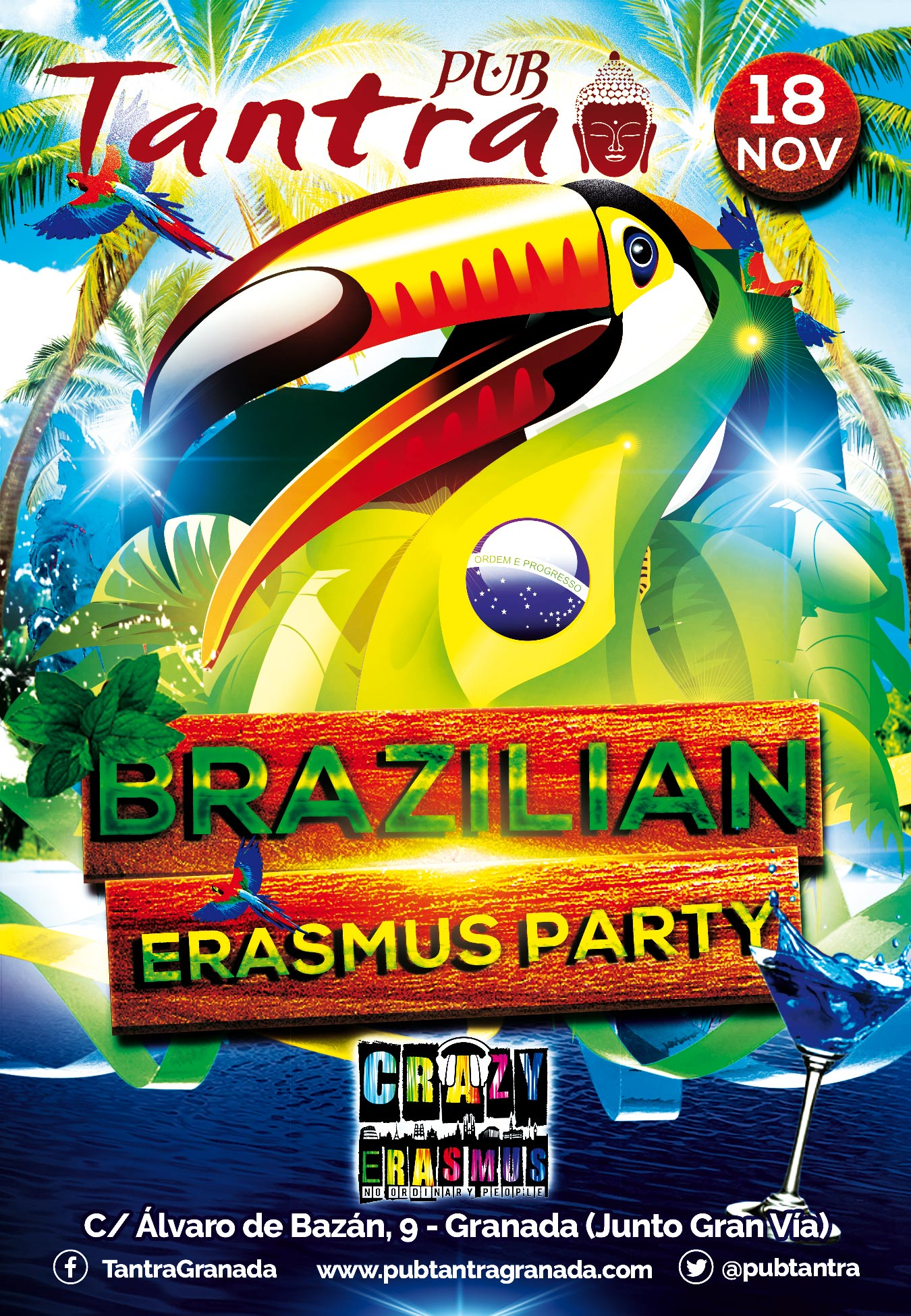 Cartel Brazilian Erasmus Party